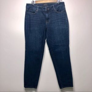 Talbots Boyfriend Flawless Five-Pocket Size 8